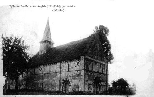 Sainte-Marie aux Anglais - l'église