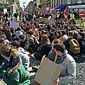 500 salariés, lycéens et retraités défilent à Avranches contre le projet de <b>loi</b> <b>travail</b> - jeudi 31 mars 2016