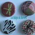 Badges libellules