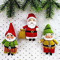 Santa and his Elves - Dollytime - Wendy Phillips