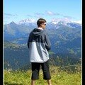 Regard sur la montagne