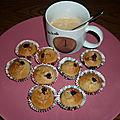 Mini muffins à l'anglaise