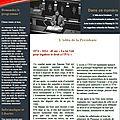 Newsletter n°12 - décembre 2014
