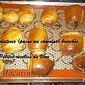 Tour en cuisine # 257 : chocolatines briochées