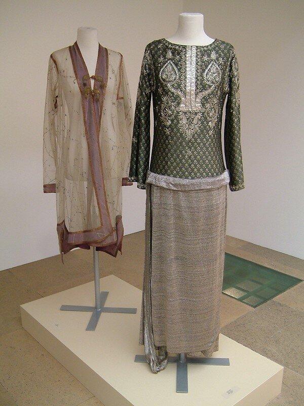 Caftan et robe