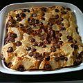 Clafoutis poires-amandes aux pépites de chocolat