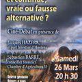 INFO DERNIERE MINUTE Ciné-débat
