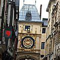 Rouen : l'horloge