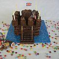 Le gâteau d'anniversaire de babù