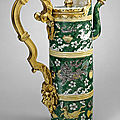 Ewer. Unknown. <b>Chinese</b> <b>porcelain</b> 1662 - 1722, French mounts 1700 - 1710