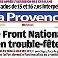 Marseille , 2014 , sondage pour tous