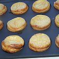Tartelettes au thon et carré frais