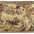 <b>Manufacture</b> <b>royale</b> de <b>Beauvais</b>, « L'Air» de la suite des Quatre Eléments d'après Charles Lebrun, vers 1690