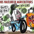 fnsea humour pesticide pollution