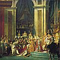 Sacre de Napoléon - <b>Jacques</b> <b>Louis</b> <b>David</b>