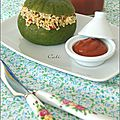 Courgettes farcies a la graine de couscous - zapallitos rellenos a la semilla de couscous