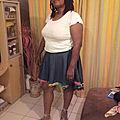 My high low skirt ! (enfin, depuis le jour ! )