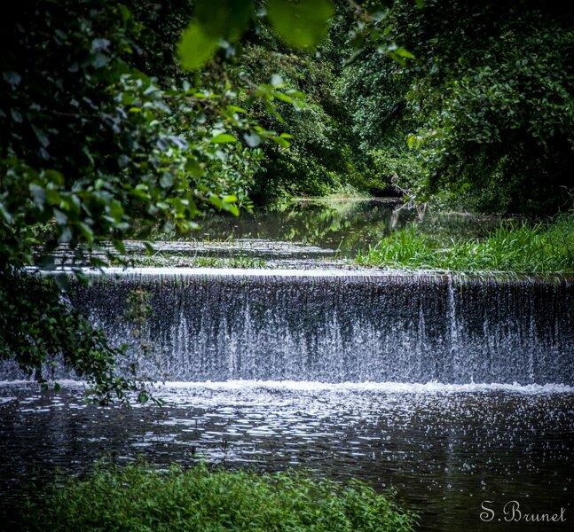 Canyon de Saulges, Mayenne, août 2014