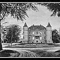 1876 - UNE FÊTE A <b>CHAMBRETAUD</b> (85) - CHAPELLE NOTRE DAME DE LOURDES - LE CALVAIRE PAROISSIAL - LA GROTTE DE LA GATIÈRE