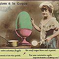 Pâques à la coque - joyeuses pâques - humour