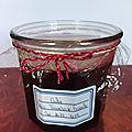 <b>Gelée</b> de fruits rouges de mon jardin