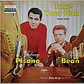 Johnny Pisano and Billy Bean - 1958 - Take Your Pics (Decca)