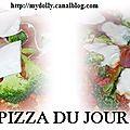 Pizza du jour : brocoli