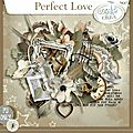 Kit perfect love de tifscrap