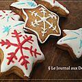 <b>Biscuits</b> de <b>Noel</b> au pain d'épices