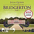 Daphné (La chronique des Bridgerton 1), de Julia Quinn