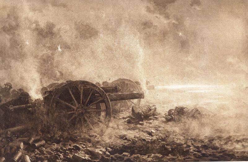 04 08 Premières journées de l'offensive allemande J Simont Illust 6 avr 18