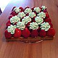 Tarte de saison 2 : la fraise !