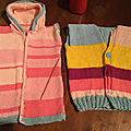 Petits gilets taille 2 ans