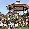 Belflorissimo 2015, jumelage et village