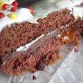 ...Chocolate Victoria sponge cake...