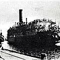 1947 - l'angleterre ramene des rescapes des camps en allemagne