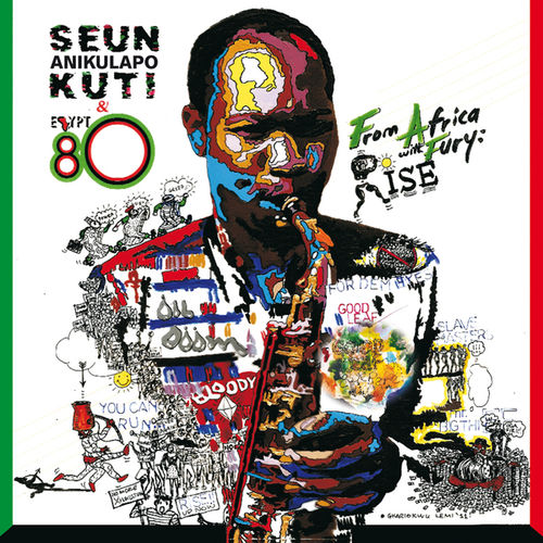 Seun Kuti & Egypt 80 - 2011 - From Africa With Fury, Rise (Knitting Factory)