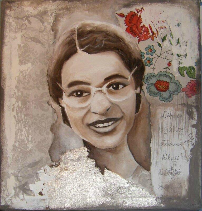 Rosa Parks par Anne 3