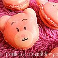 Macarons oursons .