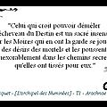 La citation du mercredi ! [20/11/2013]