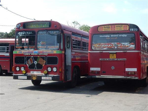 AA-Colombo, derniers bus