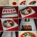 Pizza à em