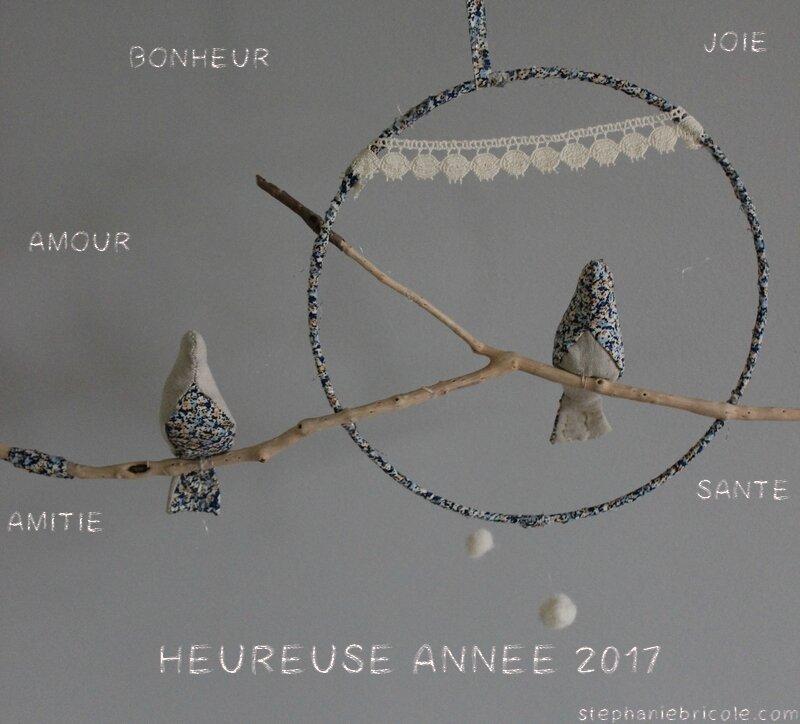 DIY nature tout en douceur pour vous souhaiter une belle année