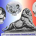 Carte postale Centième anniversaire de la Première Guerre Mondiale 1914-1918, 37e Salon de Belfort
