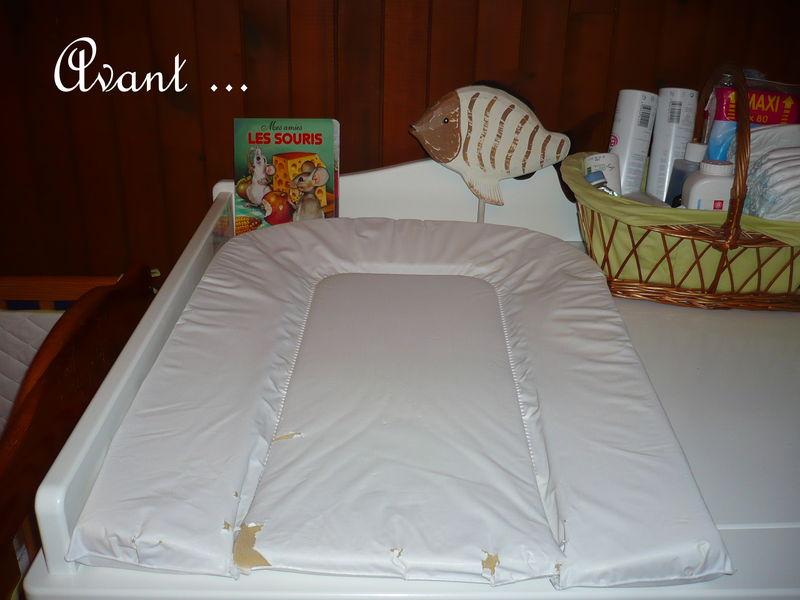 enfin une housse de matelas langer pour petit h 39 les mailles de may. Black Bedroom Furniture Sets. Home Design Ideas