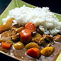 Curry japonais - kare raisu