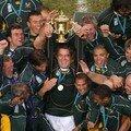 L'afrique du sud championne du monde de rugby 2007