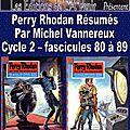 Perry rhodan résumés - cycle 2 - 80 à 89
