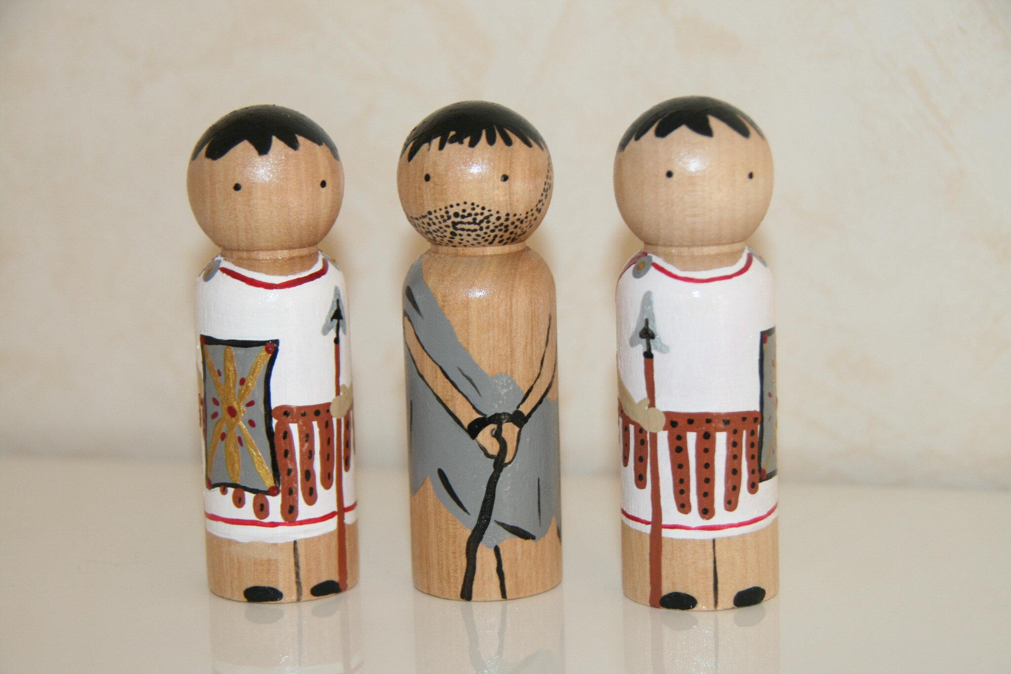 Barabas et les soldats