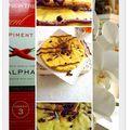 Symphonie poires,chocolat,amandine